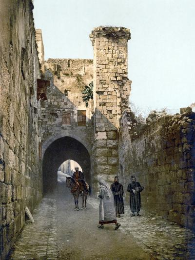 Jerusalem: Via Dolorosa--Photographic Print