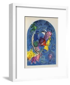 Jerusalem Windows : Benjamin-Marc Chagall-Framed Collectable Print
