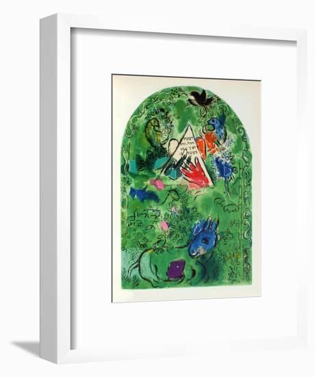 Jerusalem Windows : Issachar-Marc Chagall-Framed Collectable Print