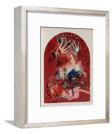 Jerusalem Windows : Juda-Marc Chagall-Framed Premium Edition
