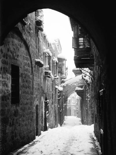 Jerusalem: Winter--Photographic Print
