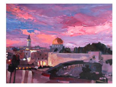 Jerusalem-M Bleichner-Art Print