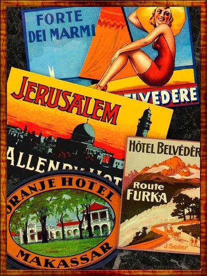 Jerusalem-Kate Ward Thacker-Giclee Print