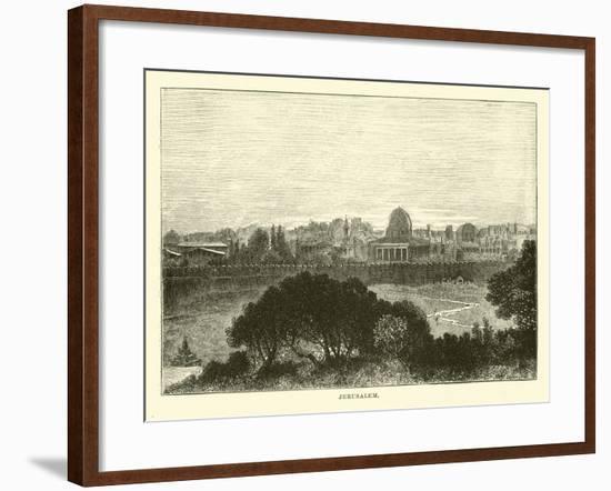 Jerusalem--Framed Giclee Print