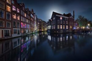 Moonlight Over Amsterdam by Jes?s M^ Garc?a