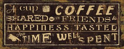 Coffee Quote III by Jess Aiken