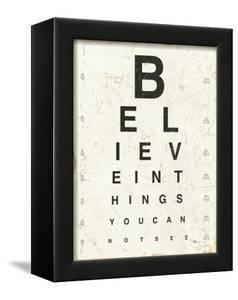 Eye Chart I by Jess Aiken