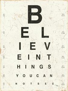 Eye Chart I by Jess Aiken