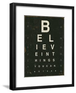 Eye Chart III by Jess Aiken