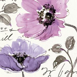 Floral Waltz Plum I by Jess Aiken