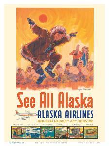 See All Alaska - Alaska Airlines - Kotzebue Eskimo Dance by Jess C^