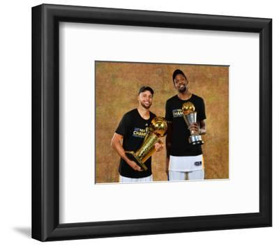 2017 NBA Finals - Portraits: Stephen Curry and Kevin Durant