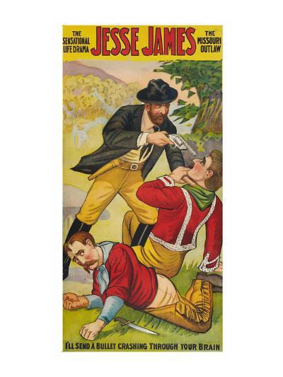 Jesse James--Art Print