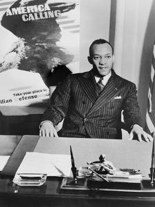Jesse Owens as National Coordinator of Racial Activities in 1942