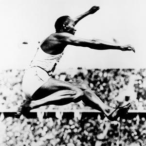 Jesse Owens, Winner of 4 Gold Medals at 1936 Olympics in Berlin
