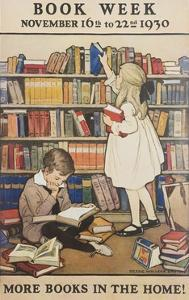 Book Week Poster by Jesse Willcox Smith