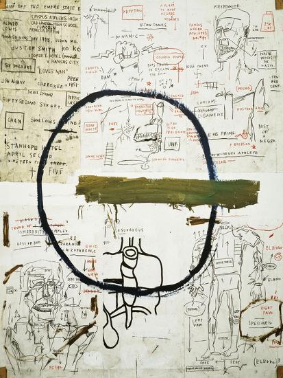 Jesse-Jean-Michel Basquiat-Premium Giclee Print