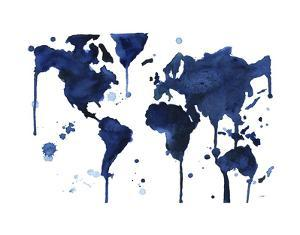 It's a Blue Blue World by Jessica Durrant