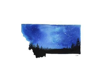 Montana State Watercolor
