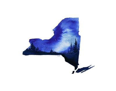 New York State Watercolor
