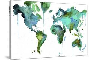 Beautiful jessica durrant world maps artwork for sale posters and watercolor map no 6 gumiabroncs Image collections