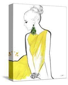 Yellow Sarong by Jessica Durrant