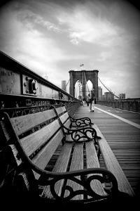 Brooklyn Bridge Promenade by Jessica Jenney
