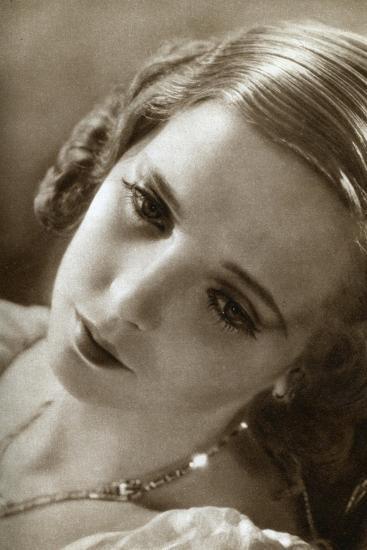 Jessie Matthews, British Actress, 1933--Giclee Print