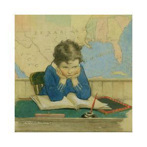 Back to School Again by Jessie Willcox-Smith