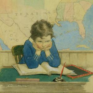 Back to School Again by Jessie Willcox-Smith