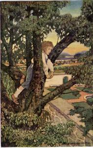 Boy in a Tree, 1905 by Jessie Willcox-Smith