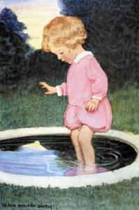 Boy Who Forgot to Wash by Jessie Willcox-Smith