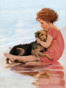 Don't Be Scared by Jessie Willcox-Smith