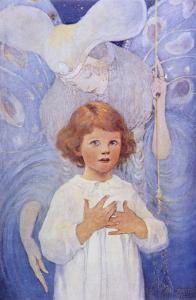 Fairy Godmother Angel by Jessie Willcox-Smith