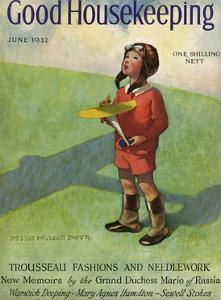 Good Housekeeping Front Cover June 1932 by Jessie Willcox-Smith