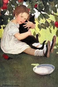 I Love Little Pussy by Jessie Willcox-Smith