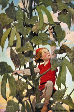 Jack and the Beanstalk by Jessie Willcox-Smith
