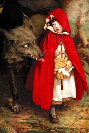 Little Red Riding Hood by Jessie Willcox-Smith