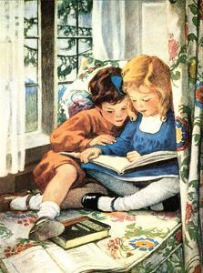 Merry Christmas by Jessie Willcox-Smith