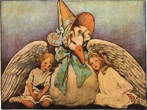 Mother Goose, 1914 by Jessie Willcox-Smith