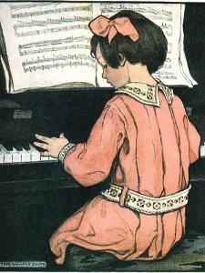 Scales, 1907 by Jessie Willcox-Smith