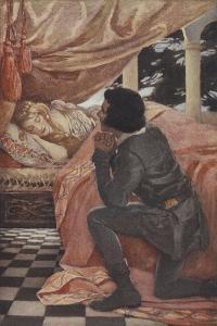 Sleeping Beauty by Jessie Willcox-Smith