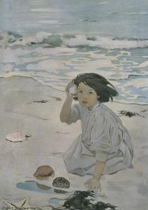 The Senses: Hearing by Jessie Willcox-Smith