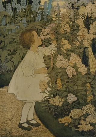 The Senses: Smell by Jessie Willcox-Smith