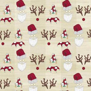2 Christmas Tree Characters Faces Wp Natural by JessMessin