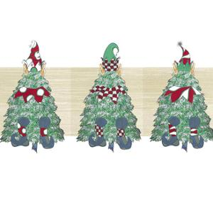 2 Christmas Tree Elves Image by JessMessin
