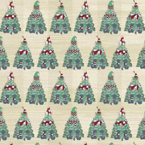 2 Christmas Tree Elves Wp Natural by JessMessin