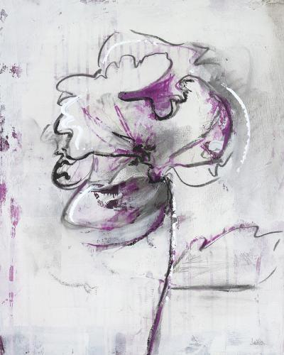 Jesters IV-Leila-Giclee Print