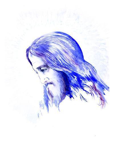 Jesus 2-Suren Nersisyan-Art Print