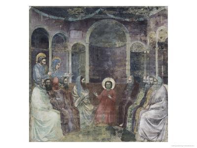 Jesus Among the Doctors-Giotto di Bondone-Giclee Print